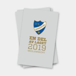 produktbild medlemskap i IFK Norrköping 2019