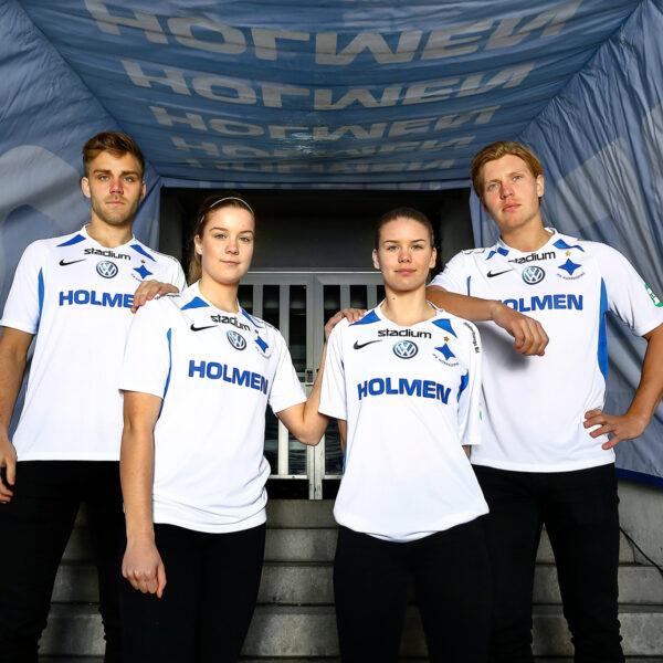 spelare i IFK Norrköpings matchtröja 2019