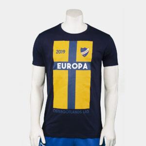 mörkblå t-shirt för Europa League 2019