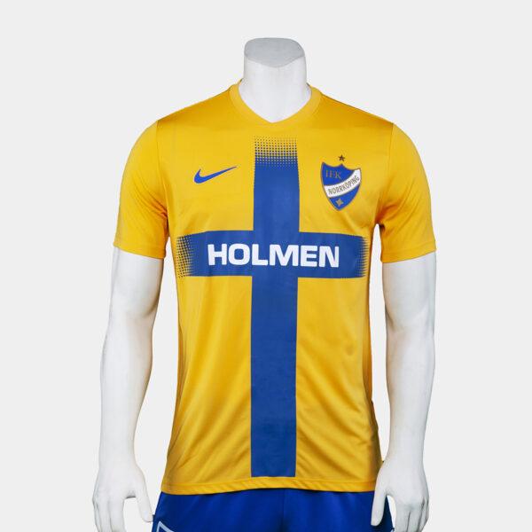 gul och blå t-shirt för Europa League 2019